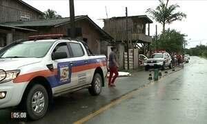 Mãe e três filhos morrem eletrocutados em Itajaí (SC)
