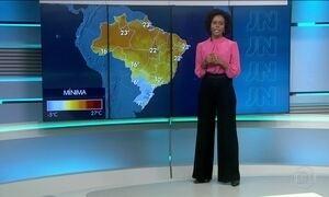 Sexta-feira (28) será de temperaturas baixas no Sul e Sudeste