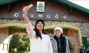 Frio no feriadão leva milhares de turistas à Serra Gaúcha