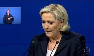 Marine Le Pen volta a ser o centro das atenções , a 5 dias do 2º turno das eleições