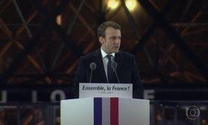 Emmanuel Macron vence eleição na França