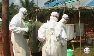 OMS alerta para novo surto de ebola na República Democrática do Congo