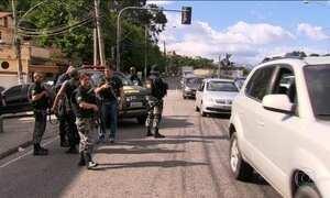 Vias expressas do Rio começam a ser patrulhadas pela Força Nacional