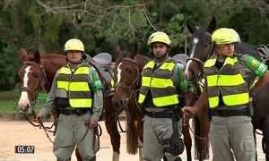 Reforço policial reduz índices de criminalidade em Porto Alegre (RS)