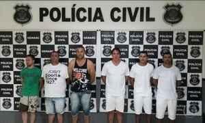 Quadrilha que roubava pneus de caminhões em 4 estados é presa em Goiás