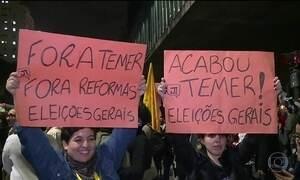 Delação contra Michel Temer provoca protestos nas ruas