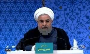 Eleitores vão às urnas para votar no presidente no Irã