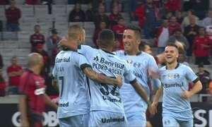 Fluminense e Grêmio lideram o Brasileirão; veja os Gols do Fantástico