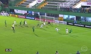 Chapecoense vence em partida emocionante pela Libertadores