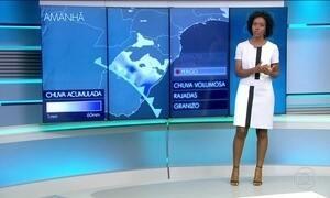 Confira a previsão do tempo para a quinta-feirab (25) em todo o país