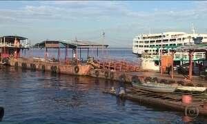 Cheia do Rio Negro se aproxima do nível de emergência em Manaus