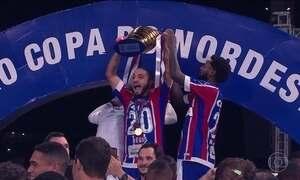 Bahia derrota Sport e conquista Copa do Nordeste depois de 15 anos