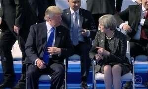 Trump diz que OTAN deve se concentrar no terrorismo e na imigração