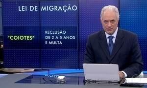 Temer sanciona lei de migração que regula entrada e permanência de migrantes e visitantes