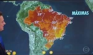 Confira a previsão do tempo para a sexta-feira (26)