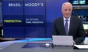 Moody's muda a perspectiva da nota do Brasil de estável para negativa