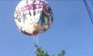 Apreensão de balões cresce de forma assustadora em Campinas (SP)