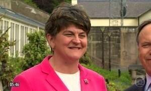 Partido da Irlanda do Norte sinaliza apoio à primeira-ministra britânica