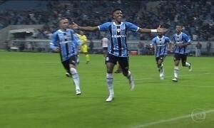 Grêmio vence Bahia e assume vice-liderança do Brasileirão