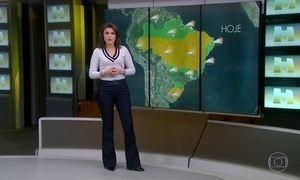 Chuva pode engrossar no Sudeste na quarta-feira (14), principalmente no RJ