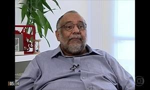 Parentes e amigos se despendem do jornalista Jorge Bastos Moreno