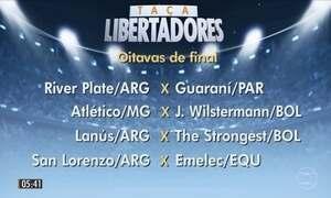 Confira os próximos confrontos da Libertadores e da Sul-Americana