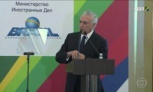 Presidente Michel Temer está na Rússia para uma visita oficial de dois dias