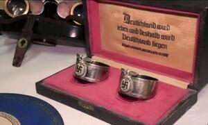 Polícia argentina encontra uma coleção de objetos nazistas