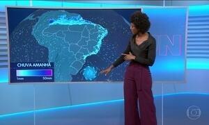 Confira a previsão do tempo para a quarta-feira (21) em todo o país