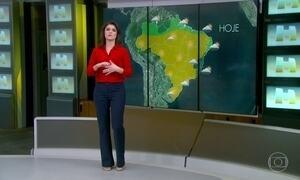 Previsão é de chuva em alguns pontos do Brasil
