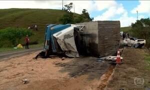 Sobe para vinte e dois o número de mortos no acidente no sul do Espírito Santo