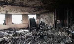 Fogo em prédio em Londres começou no congelador de uma geladeira, diz laudo