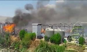 Incêndio destrói campo de refugiados sírios no Líbano