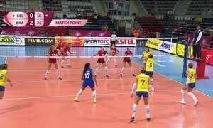 Seleção brasileira feminina de vôlei estreia com vitória no Grand Prix