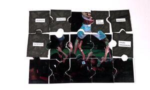 Quebra-cabeça mostra passo a passo de reportagem sobre a proibição do funk