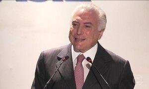 Presidente Michel Temer diz que vai respeitar a decisão dos deputados