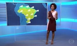 Veja a previsão do tempo para quarta-feira (12) em todo país