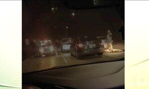 Médico é baleado em tentativa de assalto no Túnel Rebouças, RJ