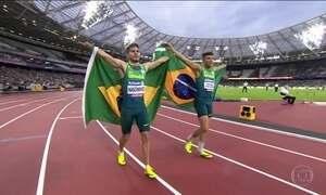 No Mundial de Atletismo Paralímpico, Petrúcio Ferreira leva o ouro