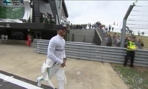 Lewis Hamilton vence o Grande Prêmio da Inglaterra de F1