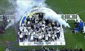 Santos vence Corinthians e conquista Campeonato Brasileiro de Futebol Feminino