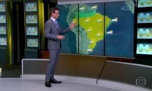Chuva avança até a metade do RS na terça-feira (01)