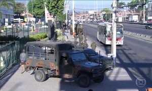 Militares mantêm estratégia surpresa em operação das Forças Armadas no RJ