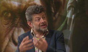 Veja a entrevista completa com Andy Serkis, o Gollum de 'O Senhor dos Anéis'
