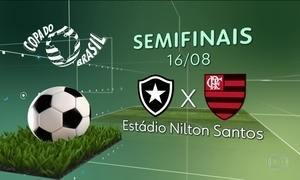 CBF sorteia a ordem dos jogos das semifinais da Copa do Brasil