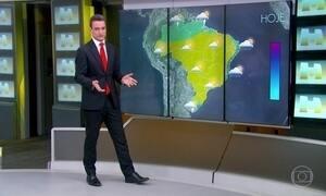 Previsão do tempo alerta para risco de temporais do Paraná ao Rio Grande do Sul