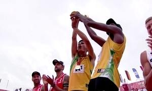 Evandro e André conquistam título mundial de vôlei de praia