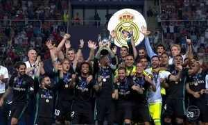 Real Madrid vence Supercopa da Europa