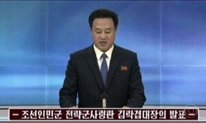 Regime do ditador Kim Jon Un diz que não há diálogo com o presidente Donald Trump