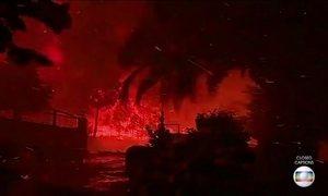 Mais de mil bombeiros trabalham em combate a queimadas em Portugal e na Espanha